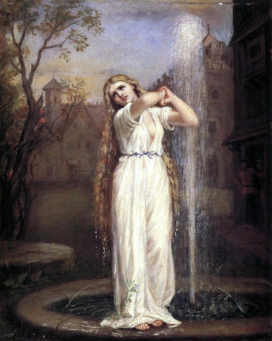 John William Waterhouse Undine - Hand Painted Oil Painting