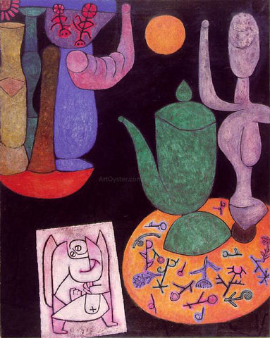Paul Klee Untitled Still Life - Hand Painted Oil Painting