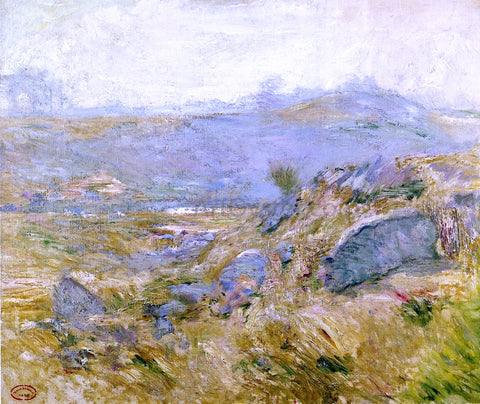 John Twachtman Upland Pastures - Hand Painted Oil Painting