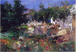 Joaquin Sorolla Y Bastida Valencian Fiesta in an Orange Grove - Hand Painted Oil Painting