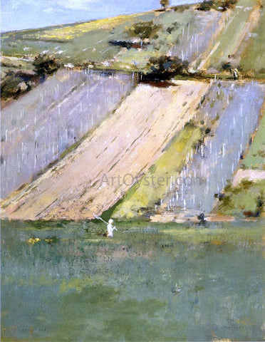 Theodore Robinson Valley of the Seine, Giverny - Hand Painted Oil Painting