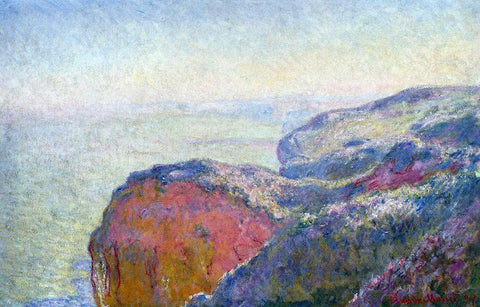 Claude Oscar Monet Val-Saint-Nicolas, near Dieppe in the Morning - Hand Painted Oil Painting