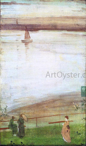 James McNeill Whistler Variations in Violet and Green - Hand Painted Oil Painting