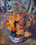 Armand Guillaumin Vase of Chrysanthemums - Hand Painted Oil Painting
