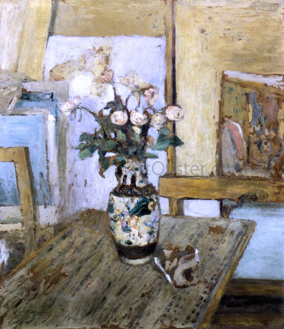 Edouard Vuillard Vase of Flowers - Hand Painted Oil Painting