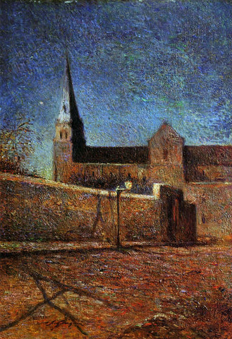 Paul Gauguin Vaugirard Church - Hand Painted Oil Painting