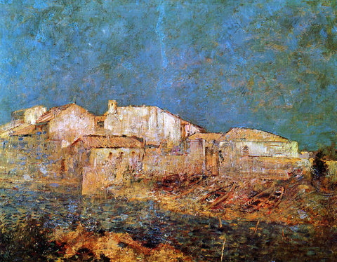 Odilon Redon Venetian Landscape - Hand Painted Oil Painting