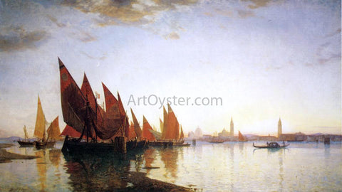 William Stanley Haseltine Venice - Hand Painted Oil Painting