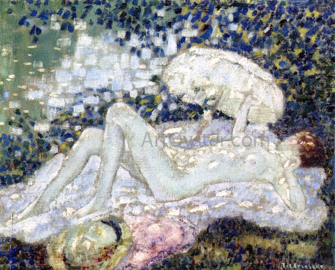Frederick Carl Frieseke Venus au Soleil - Hand Painted Oil Painting