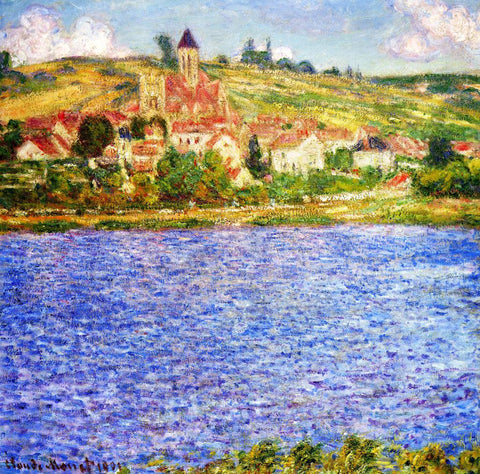 Claude Oscar Monet Vetheuil in Summer - Hand Painted Oil Painting