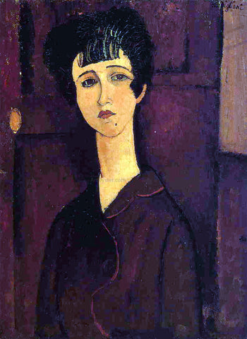 Amedeo Modigliani Victoria - Hand Painted Oil Painting