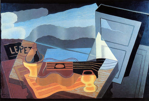 Juan Gris View across the Bay - Hand Painted Oil Painting