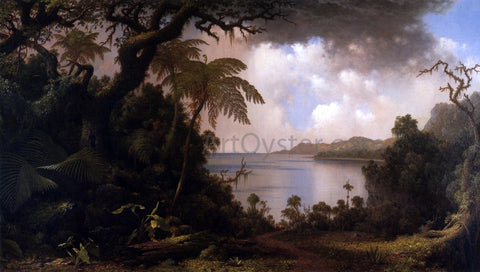 Martin Johnson Heade View from Fern-Tree Walk, Jamaica - Hand Painted Oil Painting