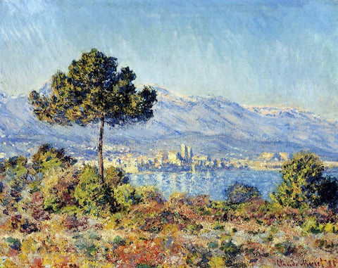 Claude Oscar Monet Vetheuil, Afternoon - Hand Painted Oil Painting