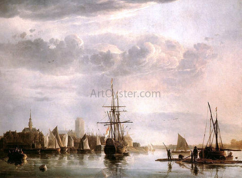 Aelbert Cuyp View of Dordrecht - Hand Painted Oil Painting