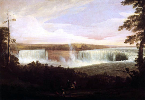 Alvan Fisher View of Niagara Falls (no.2) - Hand Painted Oil Painting