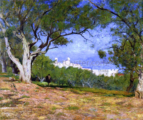 William Lamb Picknell View of Provence (also known as Vue de Provence) - Hand Painted Oil Painting