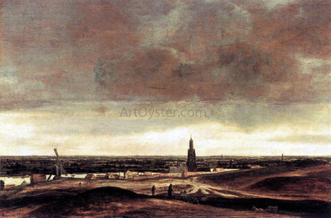 Hercules Seghers View of Rhenen - Hand Painted Oil Painting