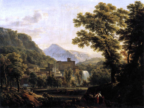 Jean-Joseph-Xavier Bidauld View of the Isle of Sora - Hand Painted Oil Painting