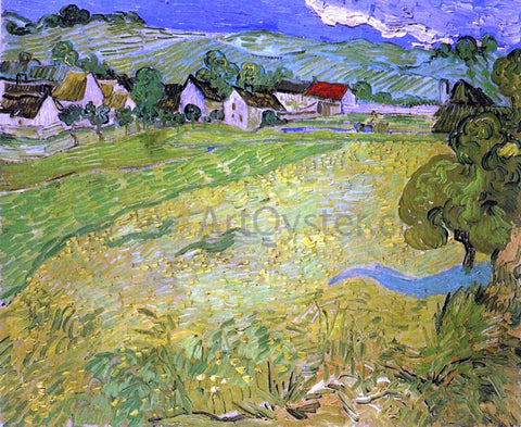 Vincent Van Gogh View of Vessenots near Auvers - Hand Painted Oil Painting