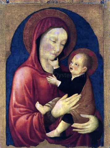 Jacopo Bellini Virgin and Child - Hand Painted Oil Painting