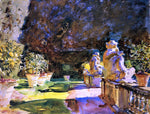 John Singer Sargent At Villa di Marlia, Lucca - Hand Painted Oil Painting