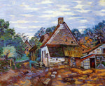 Armand Guillaumin A Village - Hand Painted Oil Painting