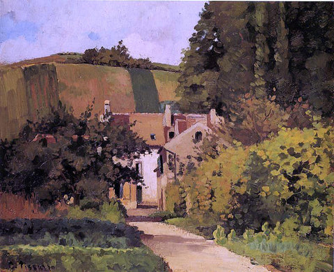 Camille Pissarro Village Church - Hand Painted Oil Painting
