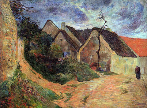 Paul Gauguin Village Street, Osny - Hand Painted Oil Painting