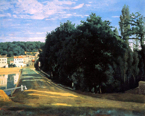 Jean-Baptiste-Camille Corot Ville d'Avray - the Chemin de Corot - Hand Painted Oil Painting