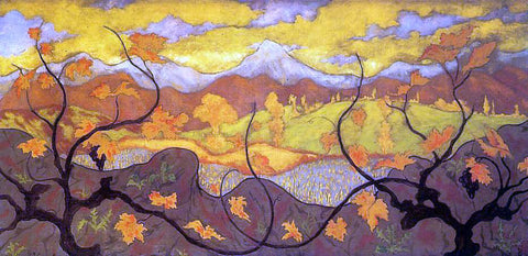 Paul Ranson Vines - Hand Painted Oil Painting