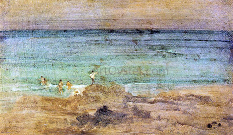 James McNeill Whistler Violet and Blue: The Little Bathers, Perosquerie - Hand Painted Oil Painting