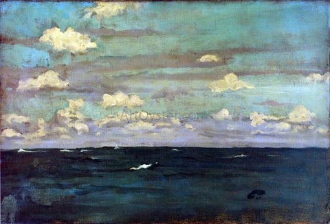 James McNeill Whistler Violet and Silver: A Deep Sea - Hand Painted Oil Painting