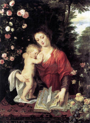 Peter Paul Rubens Virgin and Child - Hand Painted Oil Painting