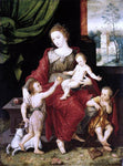 Vincent Sellaer Virgin and Child - Hand Painted Oil Painting