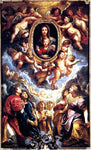 Peter Paul Rubens Virgin And Child Adored By Angels - Hand Painted Oil Painting