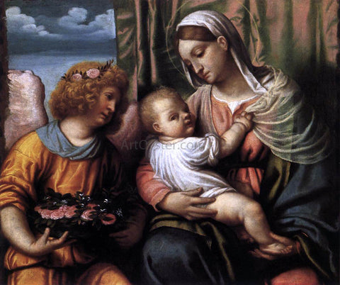 Moretto Da Brescia Virgin and Child - Hand Painted Oil Painting