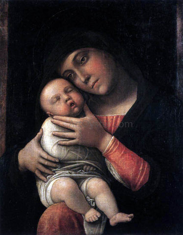 Andrea Mantegna Virgin and Child - Hand Painted Oil Painting