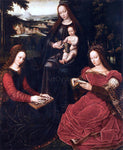 Ambrosius Benson Virgin and Child with Saints - Hand Painted Oil Painting