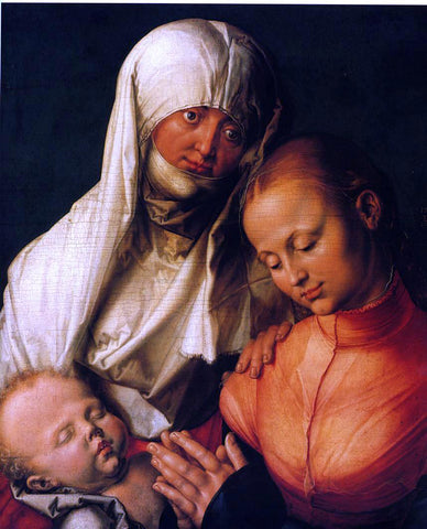 Albrecht Durer Virgin and Child with St. Anne - Hand Painted Oil Painting