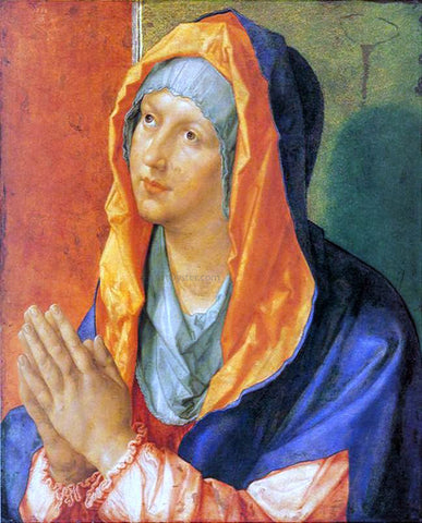 Albrecht Durer Virgin Mary in Prayer - Hand Painted Oil Painting