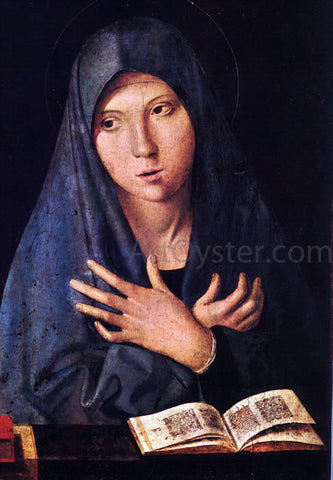 Antonello Da Messina Virgin of the Annunciation - Hand Painted Oil Painting