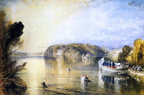 Joseph William Turner Virginia Water - Hand Painted Oil Painting