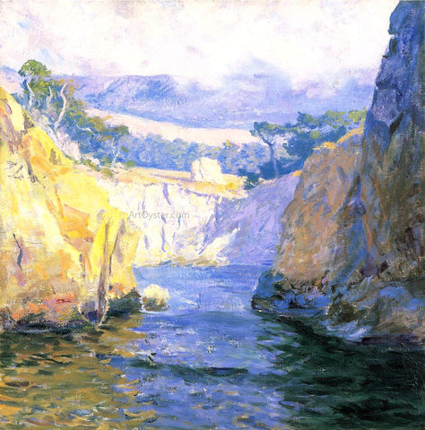 Guy Orlando Rose Vista from Point Lobos - Hand Painted Oil Painting