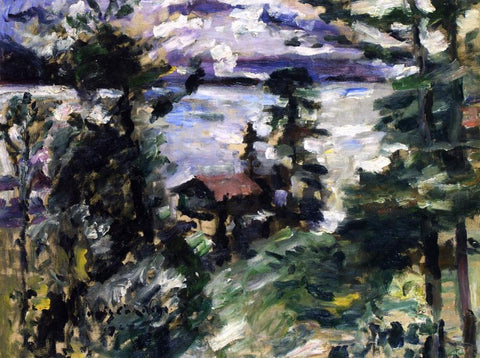 Lovis Corinth Walchensee, Morning Fog - Hand Painted Oil Painting