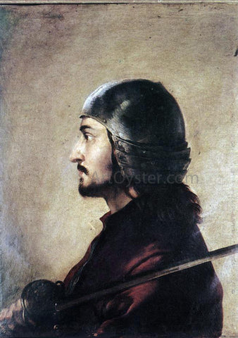 Salvator Rosa Warrior - Hand Painted Oil Painting