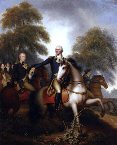 Rembrandt Peale Washington Before Yorktown - Hand Painted Oil Painting