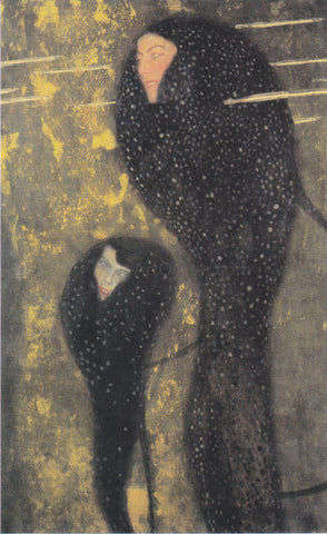 Gustav Klimt Water Nymphs Silverfish - Hand Painted Oil Painting
