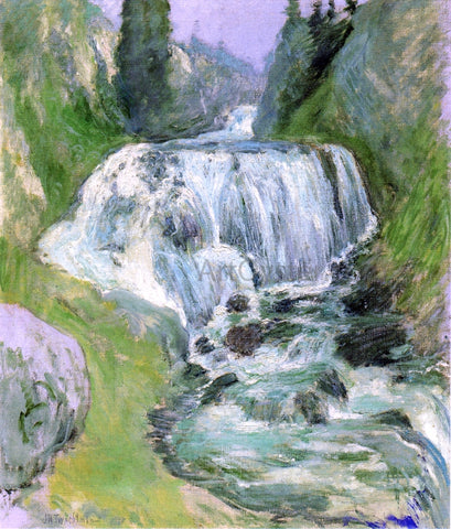 John Twachtman Waterfall - Hand Painted Oil Painting