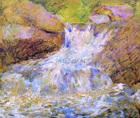 John Twachtman Waterfall, Greenwich - Hand Painted Oil Painting